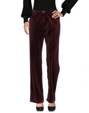 Повседневные брюки MASSIMO ALBA. Цвет: красно-коричневый
