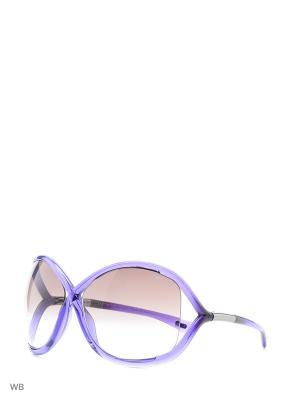 Солнцезащитные очки FT 0009 78Z Tom Ford. Цвет: фиолетовый