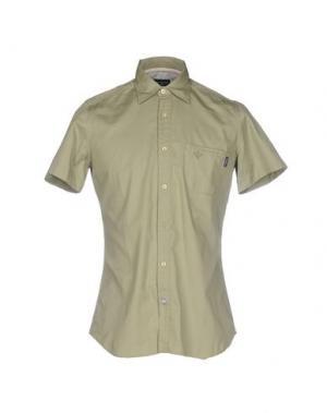 Pубашка NEW ENGLAND. Цвет: зеленый-милитари