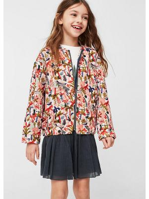 Куртка - SELVA Mango kids. Цвет: бледно-розовый