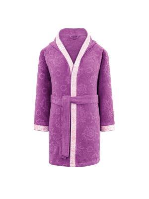 Халат Снежинка TOGAS. Цвет: фиолетовый