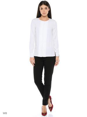 Блузка DKNY. Цвет: белый