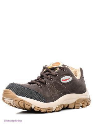 Ботинки Bibi. Цвет: темно-коричневый
