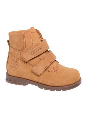 Ботинки Тотто. Цвет: светло-коричневый
