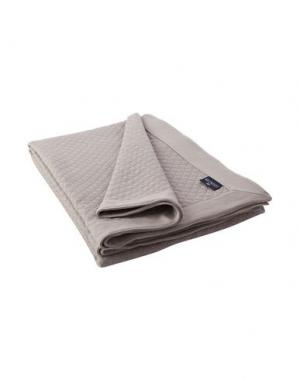 Одеяло LEXINGTON. Цвет: голубиный серый