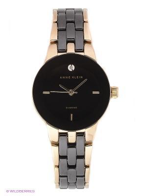 Часы ANNE KLEIN. Цвет: золотистый, черный