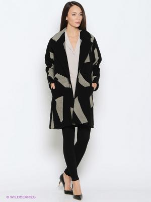 Пальто Isabel de Pedro. Цвет: черный