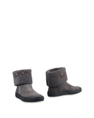 Полусапоги и высокие ботинки JOYKS. Цвет: серый