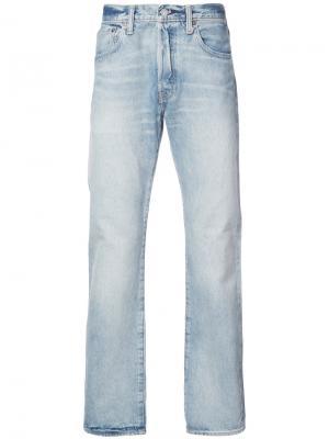 Расклешенные джинсы 501 Levis Levi's. Цвет: синий