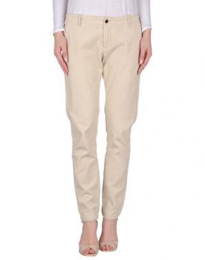 Повседневные брюки BELLEROSE. Цвет: слоновая кость