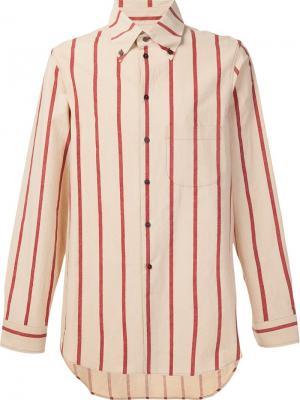 Рубашка Tazio Uma Wang. Цвет: телесный