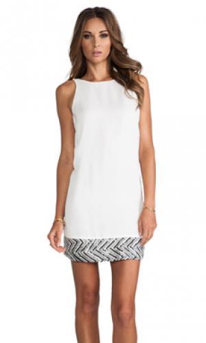 Платья блестки MM Couture by Miss Me. Цвет: белый
