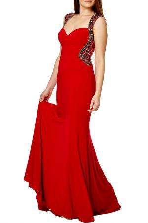 Платье Dynasty. Цвет: cherry red