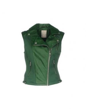 Куртка CENSURED. Цвет: зеленый