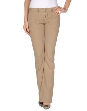 Повседневные брюки ..,MERCI. Цвет: верблюжий