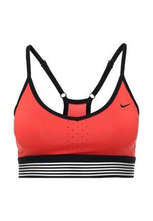 Топ спортивный Nike. Цвет: красный
