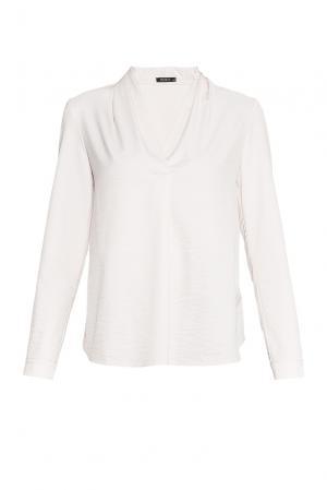 Блуза из вискозы BR-181747 Burlo. Цвет: бежевый