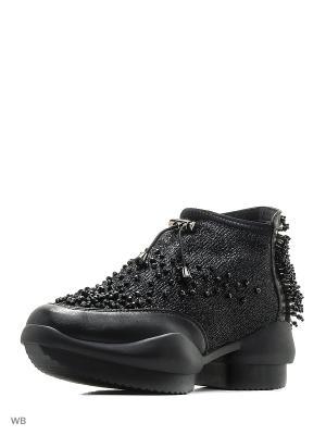 Ботинки EGGA. Цвет: черный