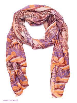 Платок Eleganzza. Цвет: оранжевый
