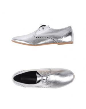 Обувь на шнурках ROSAMUNDA. Цвет: серебристый