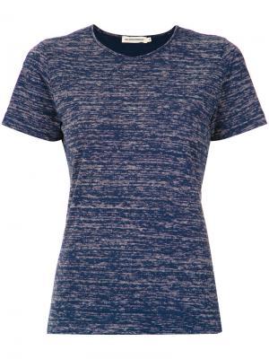 Short sleeves T-shirt Giuliana Romanno. Цвет: синий