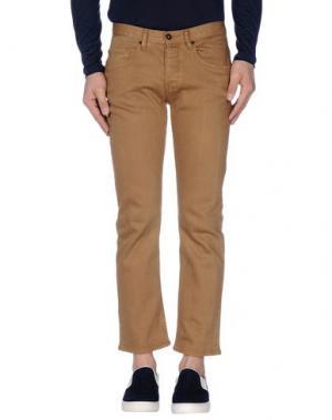 Джинсовые брюки MATIX. Цвет: песочный