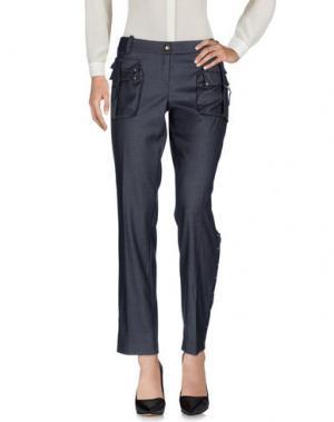 Повседневные брюки BETTY BLUE. Цвет: свинцово-серый
