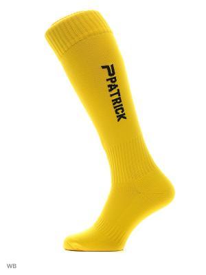 Гетры FOOTBALL SOCKS Patrick. Цвет: желтый