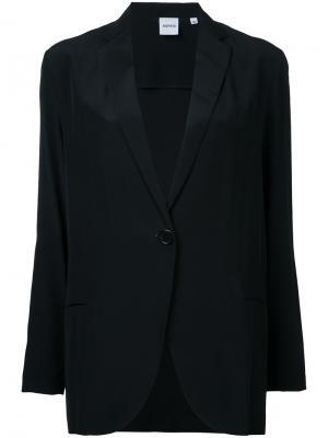 Пиджак с застежкой на пуговицу Aspesi. Цвет: чёрный