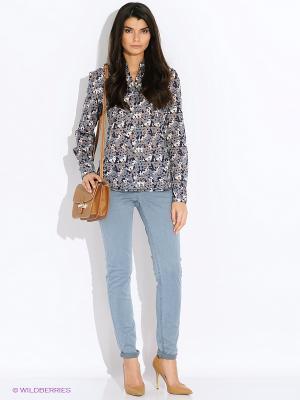 Блузка LERROS. Цвет: серый