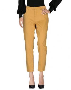 Повседневные брюки HAIKURE. Цвет: охра