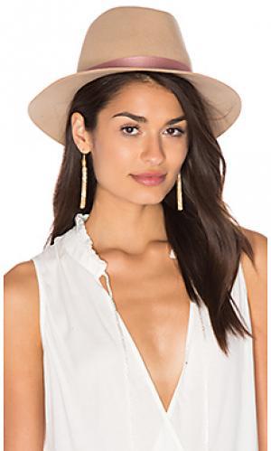 Шляпа cloe KIN/K. Цвет: беж