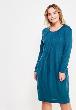 Платье Zarus. Цвет: синий