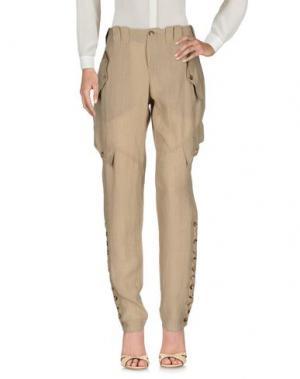 Повседневные брюки JEAN PAUL GAULTIER FEMME. Цвет: хаки