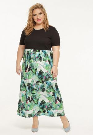 Платье Gorda Bella. Цвет: зеленый