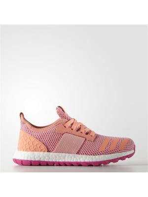 Кроссовки дет. спорт. PureBOOST ZG c Adidas. Цвет: розовый, коралловый