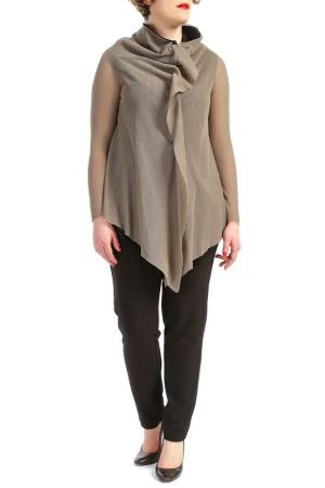 Блузка KOKOMARINA. Цвет: зеленый