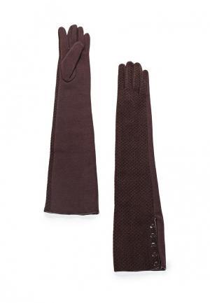 Перчатки Pur. Цвет: коричневый