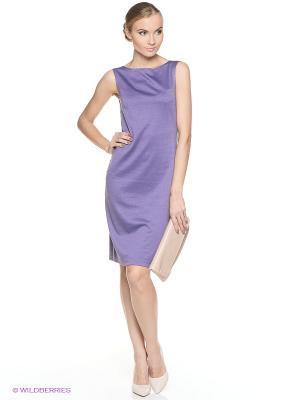 Платье ADZHEDO. Цвет: сиреневый