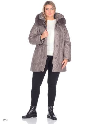 Куртка SML. Цвет: молочный