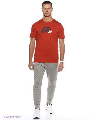 Брюки Nike. Цвет: серый