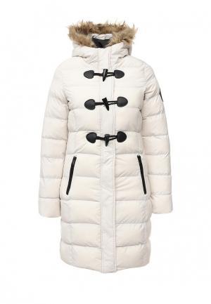 Куртка утепленная Brave Soul. Цвет: белый