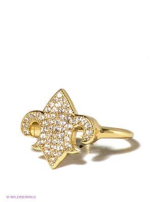 Кольцо Bijoux Land. Цвет: золотистый