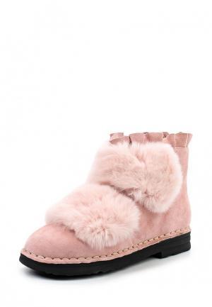 Ботинки Grand Style. Цвет: розовый