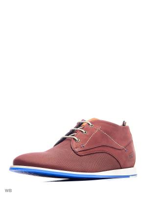 Ботинки S.OLIVER. Цвет: темно-красный
