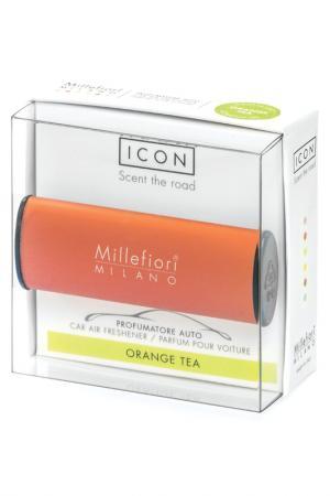 Автоаромат Апельсиновый Чай millefiori milano. Цвет: коричневый