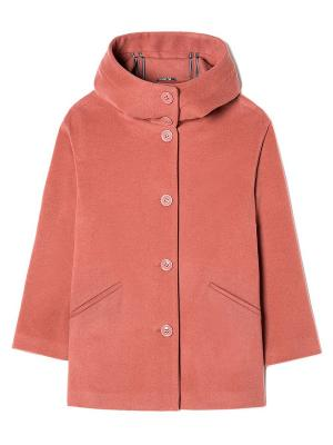 Куртка Sisley. Цвет: коралловый, оранжевый