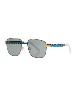 Солнечные очки SHERIFF & CHERRY. Цвет: лазурный
