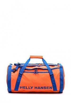 Сумка спортивная Helly Hansen. Цвет: оранжевый