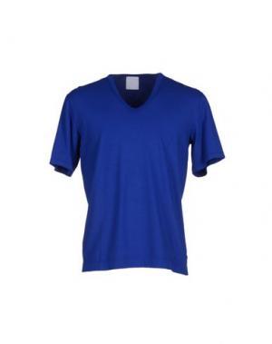 Футболка U CLOTHING. Цвет: синий